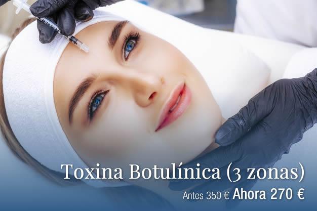 Toxina Botulínica 3 zonas